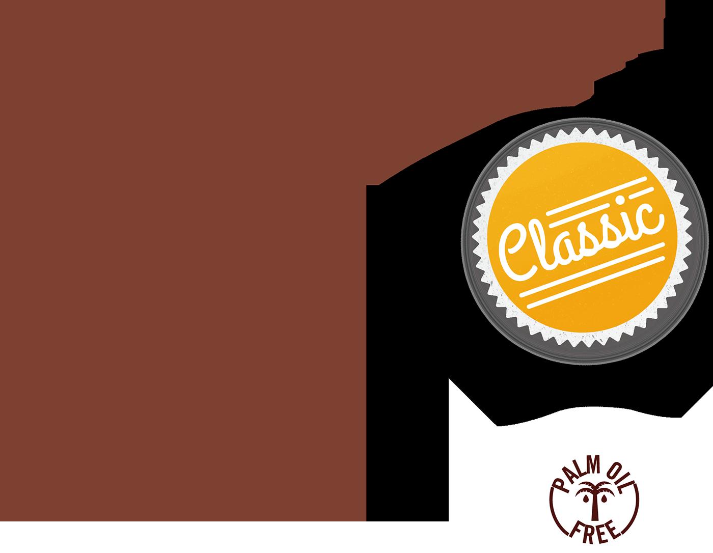 Delizie al cioccolato e nocciole gamma classic icon