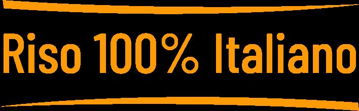 Riso italiano al 100%