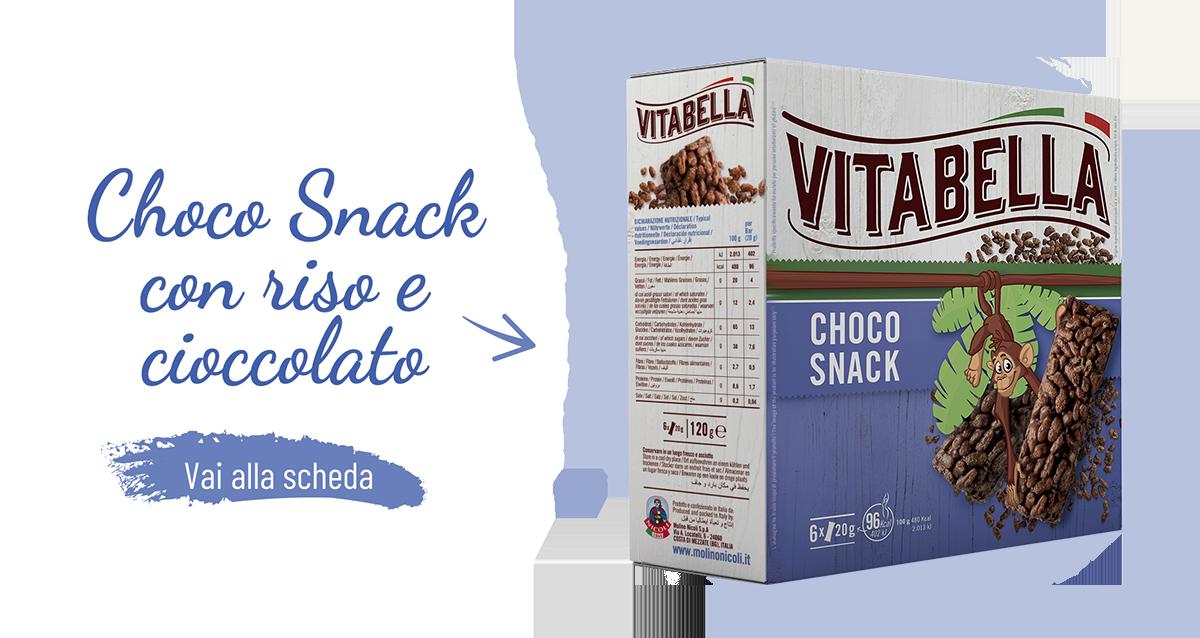 Choco Snack Con Riso E Cioccolato Gamma Classic