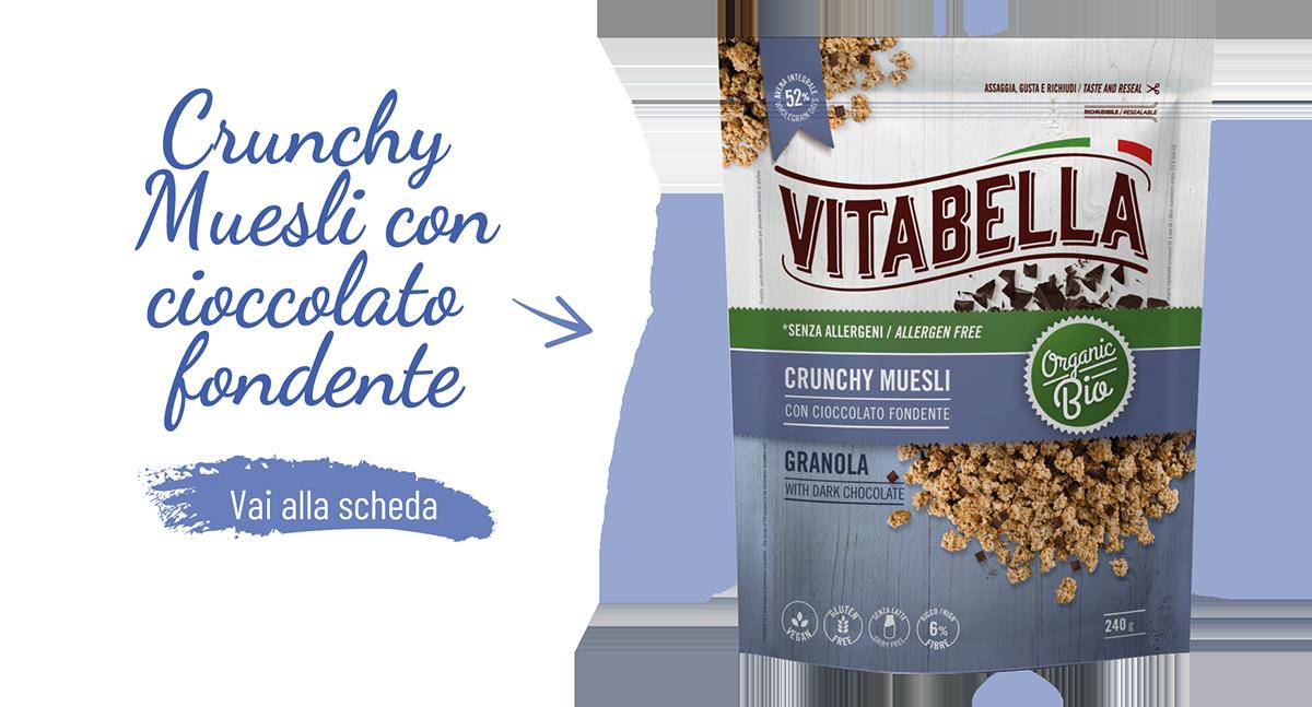 Crunchy Muesli Con Cioccolato Gamma Fibre+