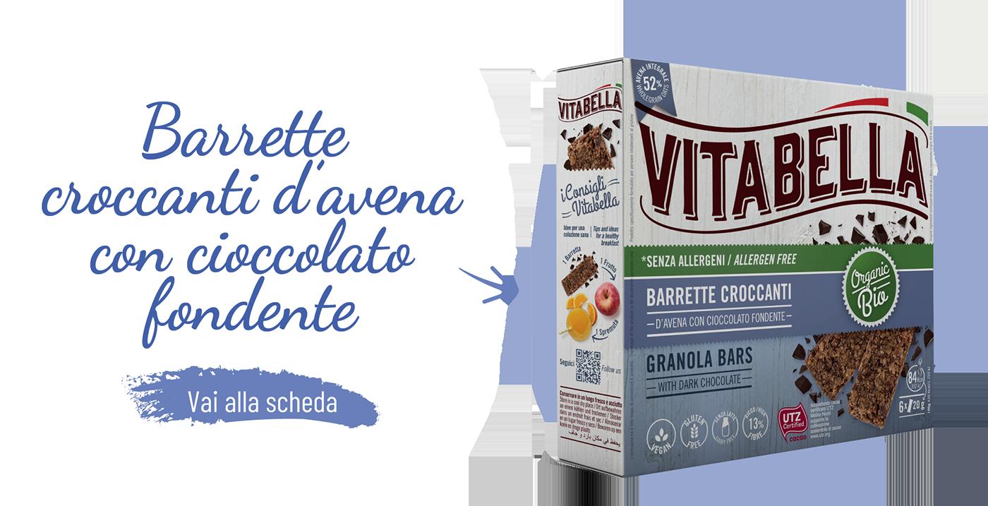 Barrette Croccanti D'avena Con Cioccolato Gamma Fibre+