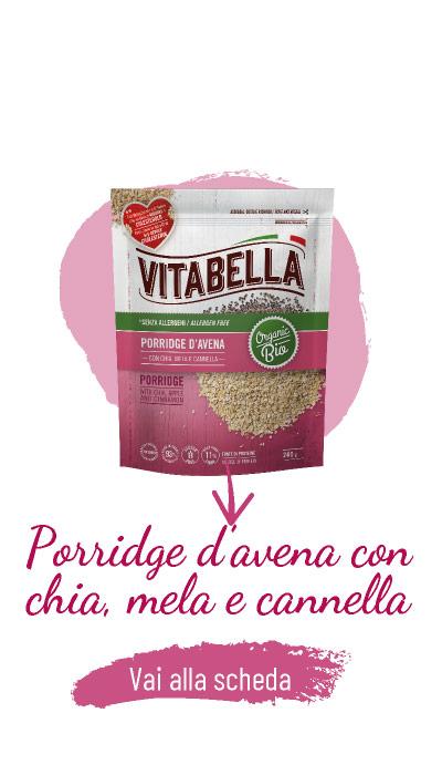 Senza Allergeni Porridge D'avena Con Chia, Mela E Cannella