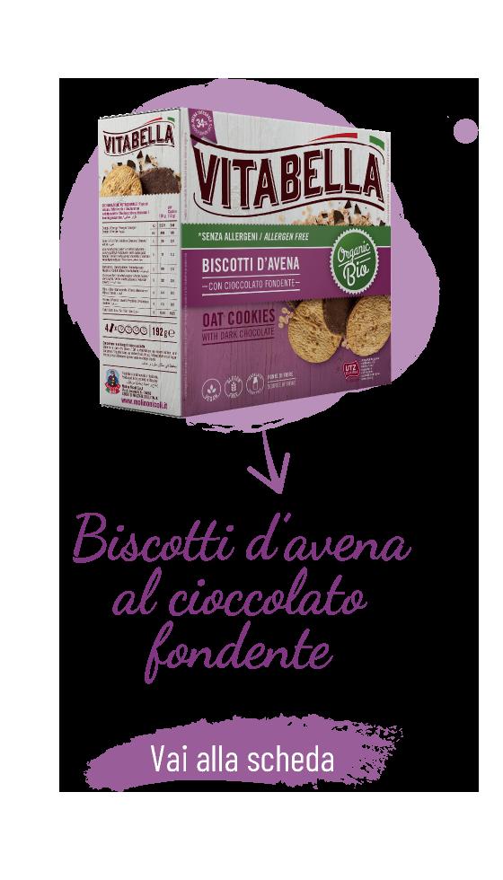 Senza Allergeni Biscotti D'avena Con Cioccolato