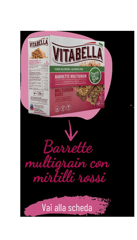 Senza Allergeni Barrette Multigrain Con Mirtilli Rossi