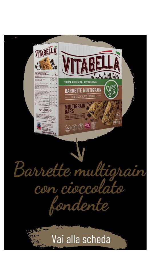 Senza Allergeni Barrette Multigrain Con Cioccolato