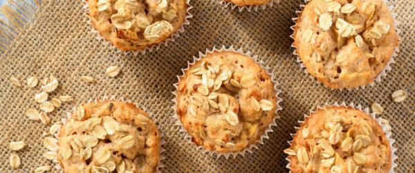 Muffin Con Crusca D'avena