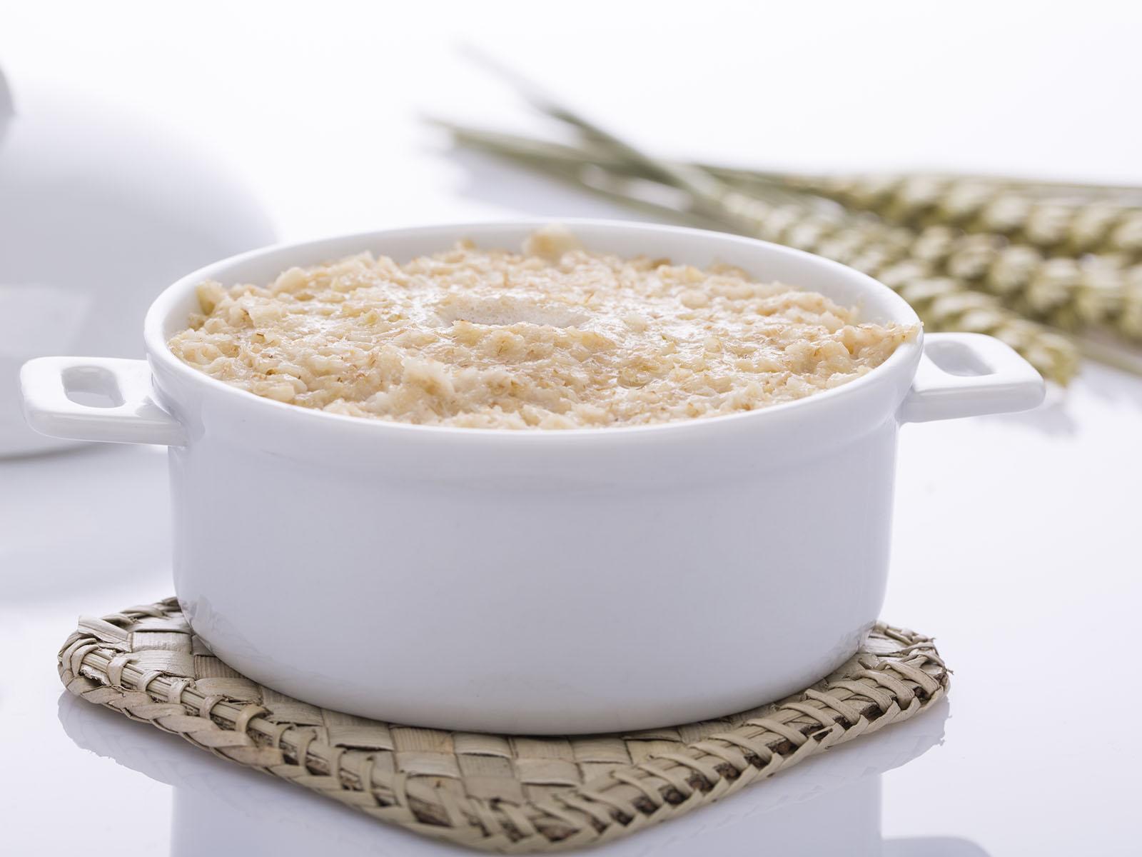 Porridge di crusca d'avena
