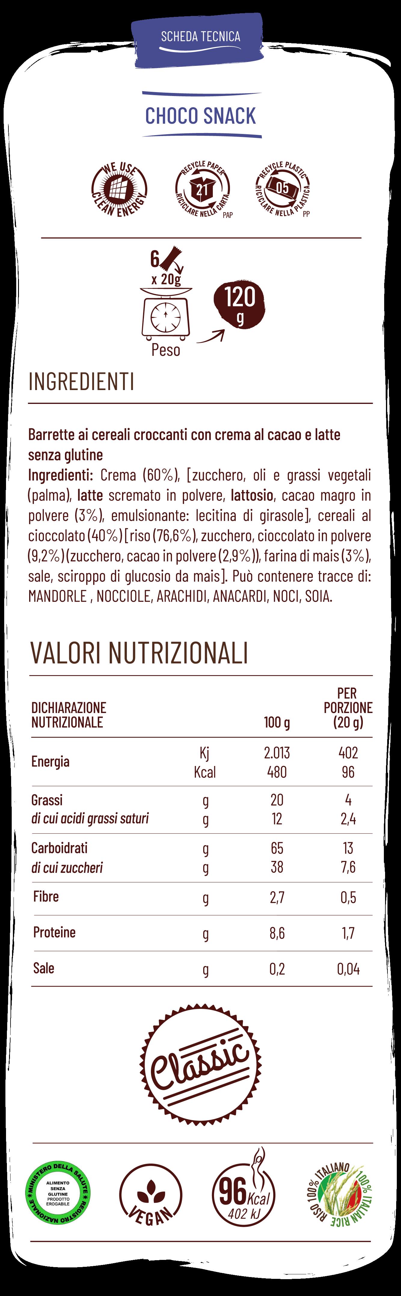 Vitabella chock snack