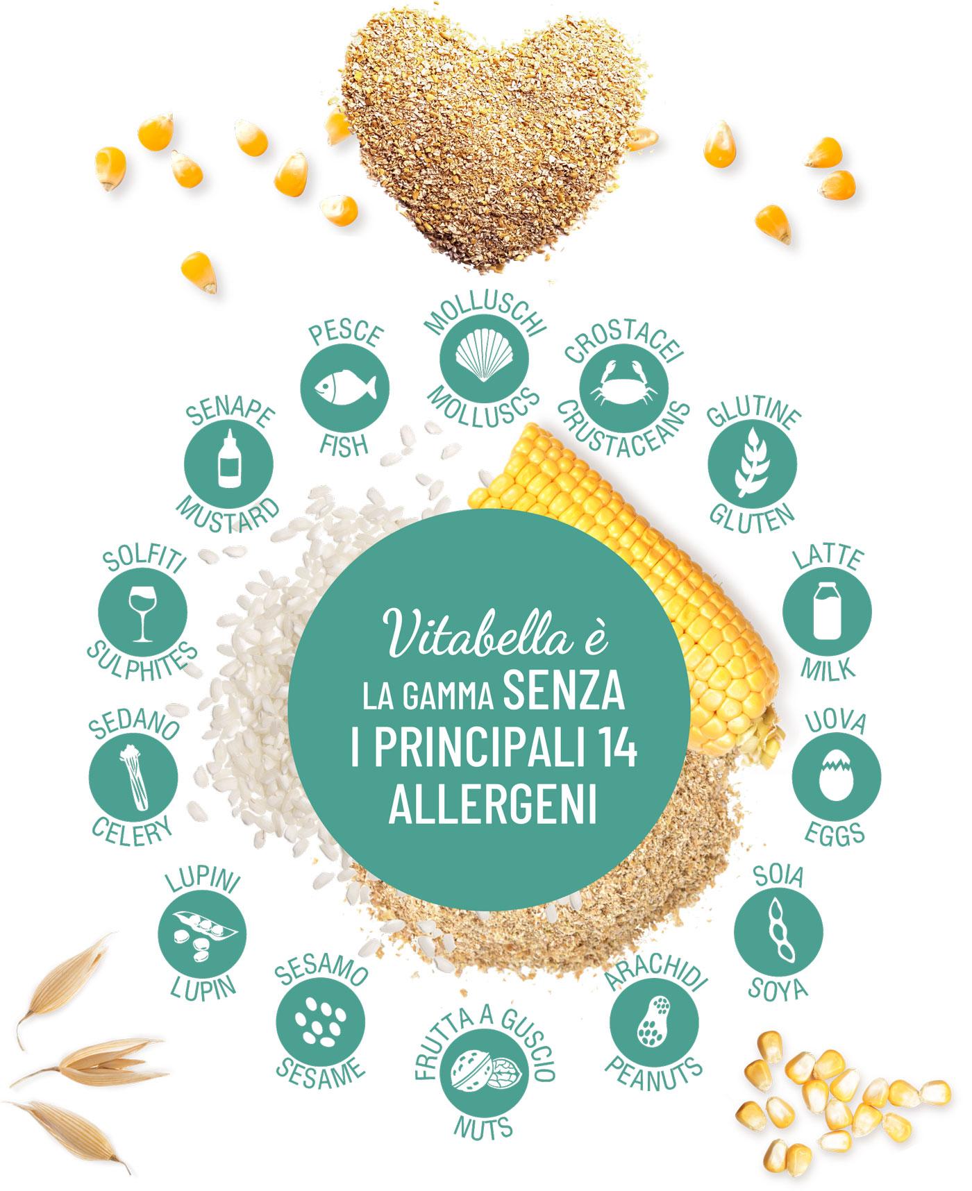 Vitabella La Gamma Senza I Principali 14 Allergeni